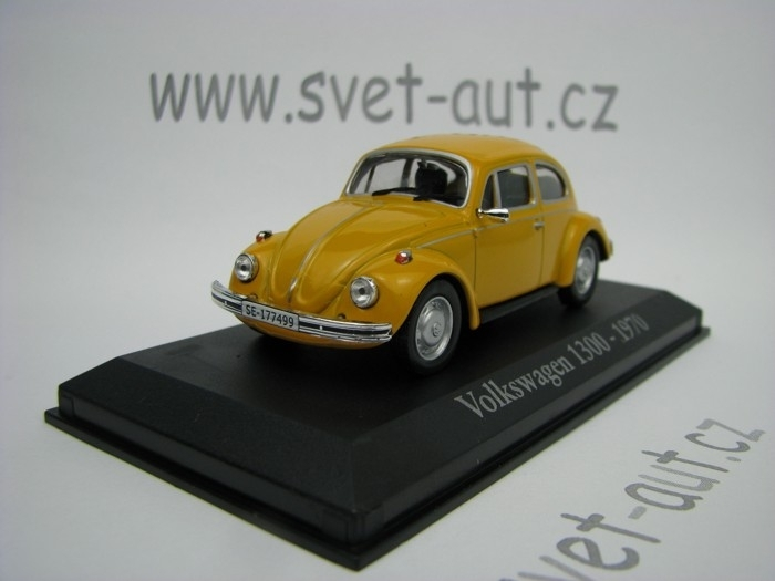 Volkswagen Beetle 1300 orange 1970 1:43 Atlas